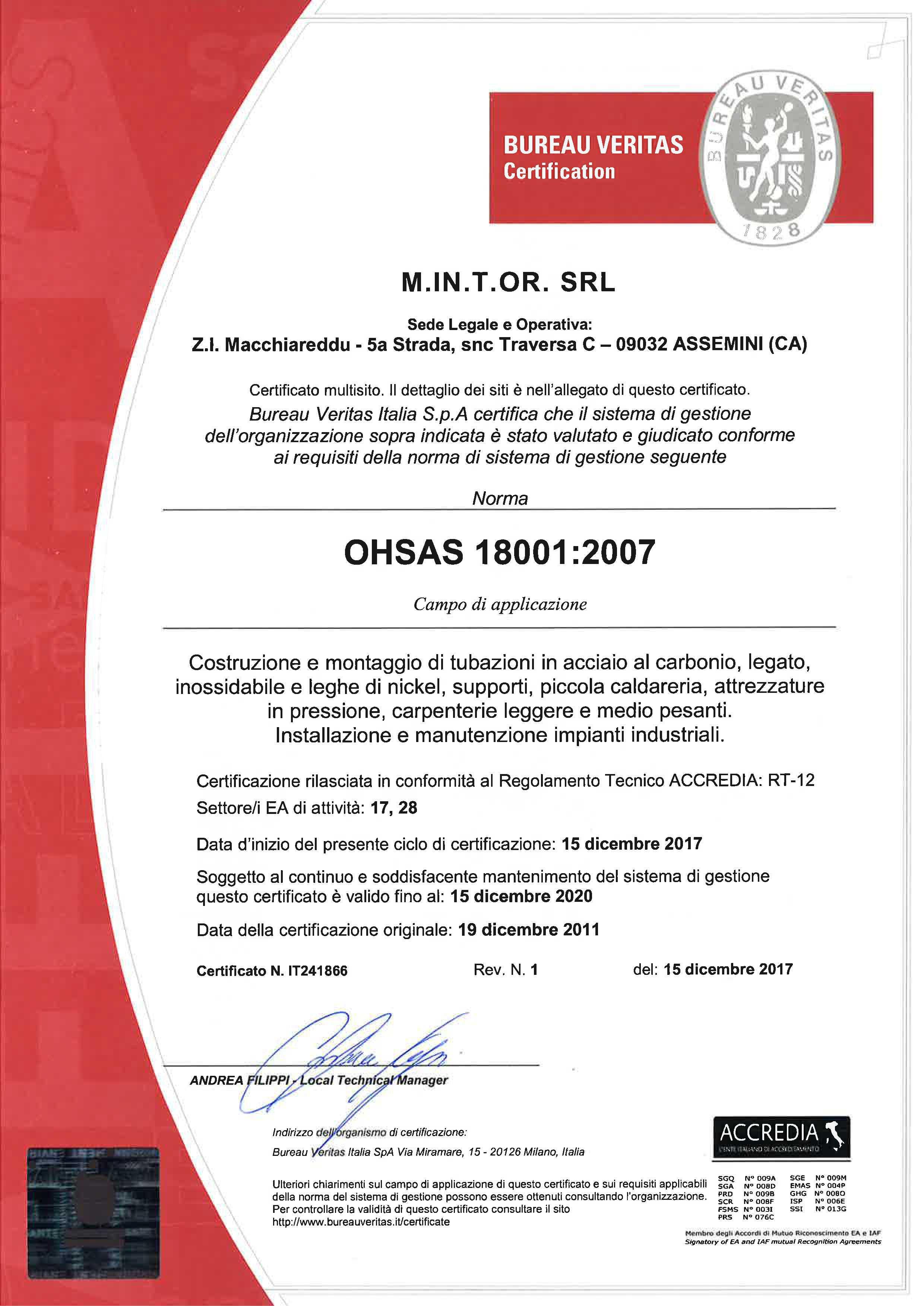certificazioni-mintor-luglio-2019_0000_M.IN.T.OR. SRL-18001 ITA